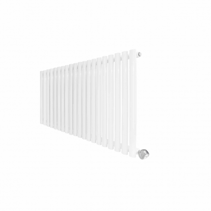 Ecostrad Allora Designer Electric Radiator - White 1200w (1180 x 635mm)