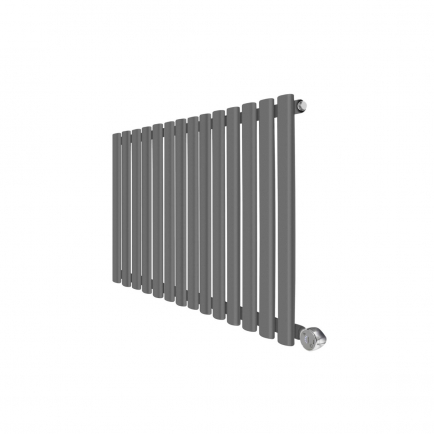 Ecostrad Allora Designer Electric Radiator - Anthracite 1000w (834 x 635mm)