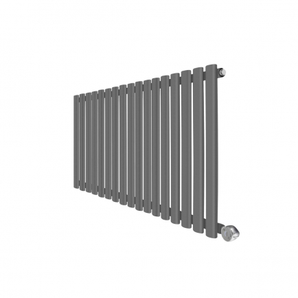 Ecostrad Allora Designer Electric Radiator - Anthracite 1000w (1000 x 635mm)