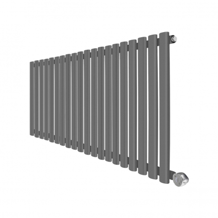 Ecostrad Allora Designer Electric Radiator - Anthracite 1200w (1180 x 635mm)