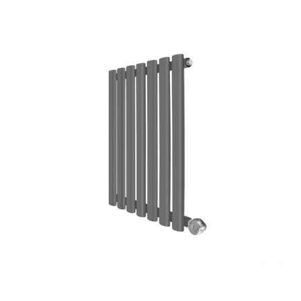 Ecostrad Allora Designer Electric Radiator - Anthracite 400w (415 x 635mm)