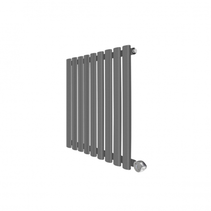 Ecostrad Allora Designer Electric Radiator - Anthracite 600w (595 x 635mm)