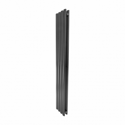 Ecostrad Allora Vertical Designer Electric Radiator - Anthracite Double Panel 1200w (236 x 1600mm)
