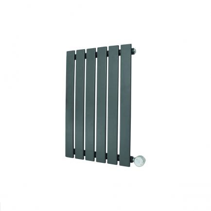 Ecostrad Ascoli Designer Electric Radiator - Anthracite 400w (420 x 635mm)