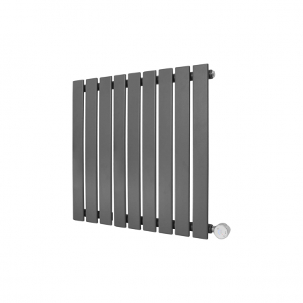 Ecostrad Ascoli Designer Electric Radiator - Anthracite 600w (630 x 635mm)