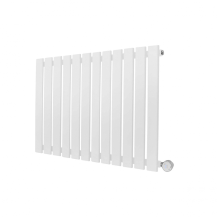 Ecostrad Ascoli Designer Electric Radiator - White 800w (840 x 635mm)