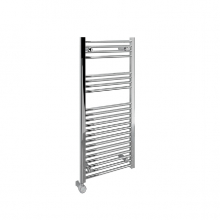 Ecostrad Fina-E Blue Smart Electric Towel Rail - Chrome 300w (500 x 1100mm)
