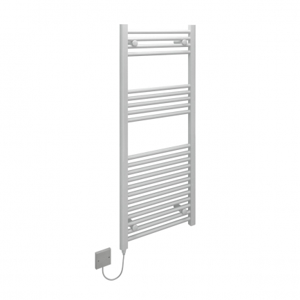 Ecostrad Fina-E Electric Towel Rail - White 400w (500 x 1200mm)