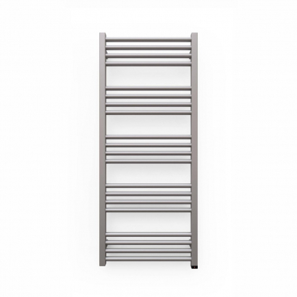 Terma Fiona ONE Designer Electric Towel Rail - Grey 400w (480 x 1140mm)