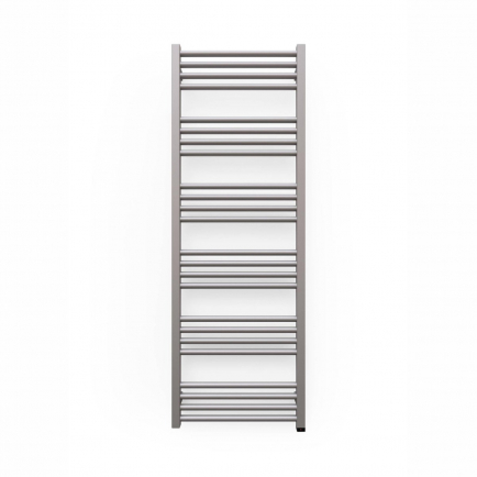 Terma Fiona ONE Designer Electric Towel Rail - Grey 600w (480 x 1380mm)