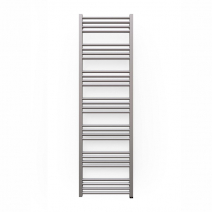 Terma Fiona ONE Designer Electric Towel Rail - Grey 600w (480 x 1620mm)