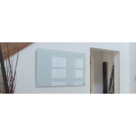 Herschel Inspire Glass Infrared Heating Panels - White