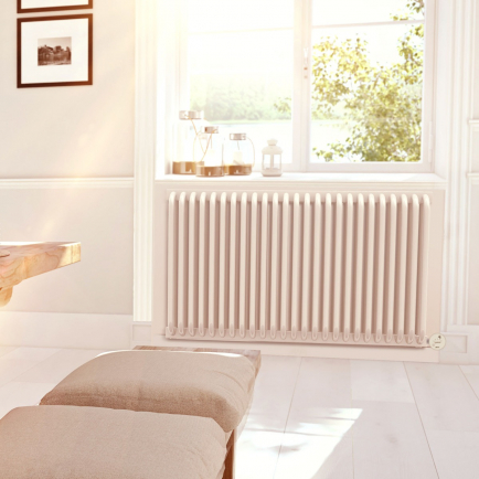 Terma Delfin E Designer Electric Radiators - White
