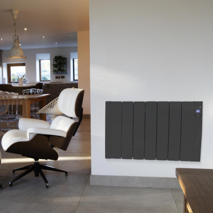 Haverland Designer RC Wave+ Electric Radiator - Anthracite