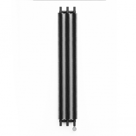 Terma Ribbon V E Vertical Designer Electric Radiator - Grey 600w