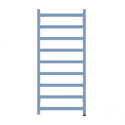 Terma Simple ONE Designer Electric Towel Rail - Blue 400w (500 x 1080mm)