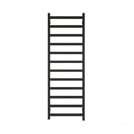 Terma Simple ONE Designer Electric Towel Rail - Black 600w (500 x 1440mm)