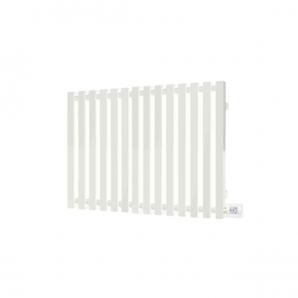 Terma Triga E Designer Electric Radiator - White 1000w (1280 x 560mm)