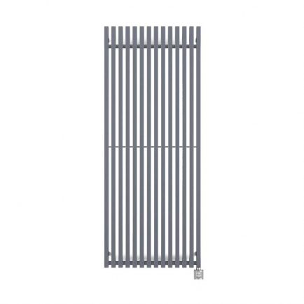 Terma Triga Vertical Designer Electric Radiator - Anthracite 800w (380 x 1700mm)