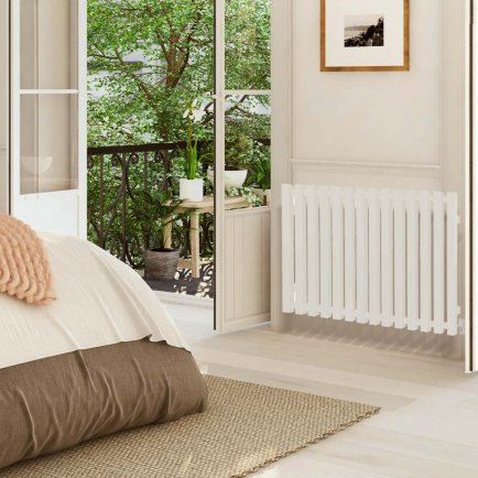 Terma Triga E Designer Electric Radiators - White
