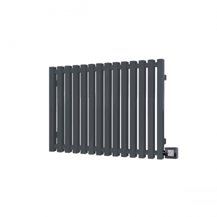 Terma Triga Designer Electric Radiator - Anthracite 600w (680 x 610mm)