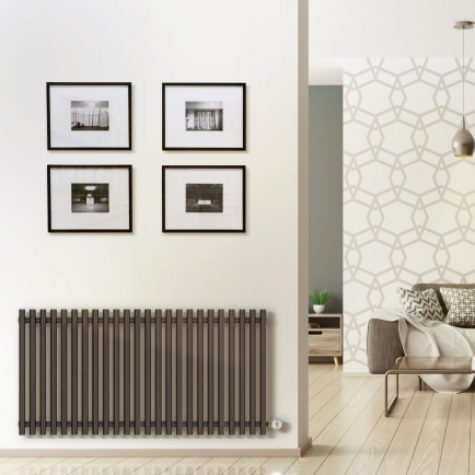 Terma Tune E Designer Electric Radiators - Anthracite