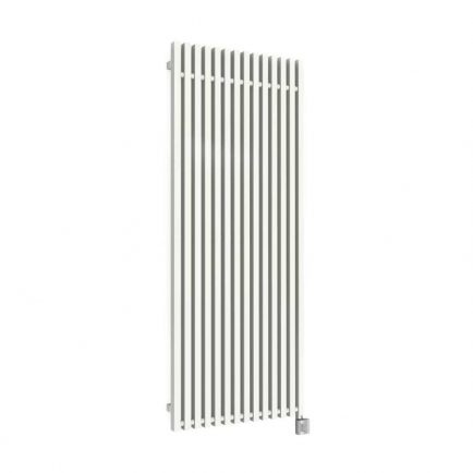 Terma Triga E Vertical Designer Electric Radiator - White 1000w (380 x 1900mm)