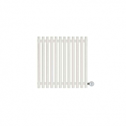 Terma Tune E Designer Electric Radiator - White 400w (590 x 600mm)
