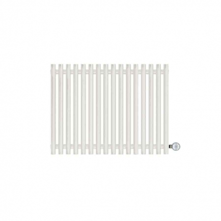 Terma Tune E Designer Electric Radiator - White 600w (790 x 600mm)