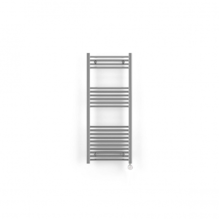 Terma Leo MOA Thermostatic Electric Towel Rail - Chrome 300w