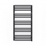 Terma Alex ONE Designer Electric Towel Rail - Grey 400w (500 x 760mm)
