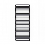 Terma Alex ONE Designer Electric Towel Rail - Grey 600w (500 x 1140mm)