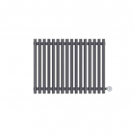 Terma Tune E Designer Electric Radiator - Anthracite 600w (790 x 600mm)