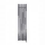 Terma Cane E Vertical Designer Electric Radiator - Anthracite 800w (390 x 1600mm)