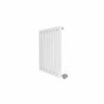 Ecostrad Allora Designer Electric Radiator - White 400w (415 x 635mm)