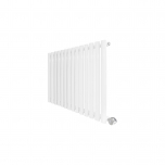 Ecostrad Allora Designer Electric Radiator - White 1000w (834 x 635mm)