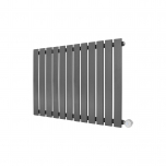 Ecostrad Ascoli Designer Electric Radiator - Anthracite 800w (980 x 635mm)