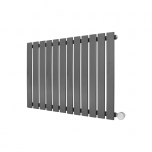 Ecostrad Ascoli Designer Electric Radiator - Anthracite 800w (840 x 635mm)