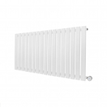Ecostrad Ascoli Designer Electric Radiator - White 1000w (1190 x 635mm)
