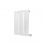 Ecostrad Ascoli Designer Electric Radiator - White 400w (420 x 635mm)