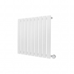 Ecostrad Ascoli Designer Electric Radiator - White 600w (630 x 635mm)