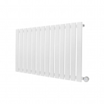 Ecostrad Ascoli Designer Electric Radiator - White 800w (980 x 635mm)