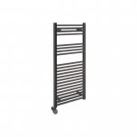 Ecostrad Fina-E Thermostatic Electric Towel Rail - Anthracite 300w (500 x 1100mm)