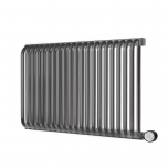 Terma Delfin E Designer Electric Radiator - Anthracite 1200w (1220 x 540mm)
