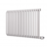Terma Delfin E Designer Electric Radiator - White 1000w (1020 x 540mm)