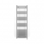 Terma Leo MOA Blue Thermostatic Electric Towel Rail - Chrome 600w