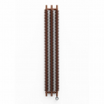 Terma Ribbon V E Vertical Designer Electric Radiator - Copper 600w