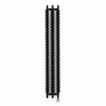 Terma Ribbon V E Vertical Designer Electric Radiator - Black 600w