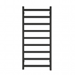 Terma Simple ONE Designer Electric Towel Rail - Black 400w (500 x 1080mm)