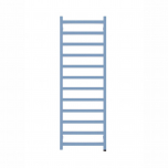 Terma Simple ONE Designer Electric Towel Rail - Blue 600w (500 x 1440mm)